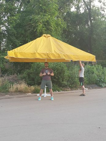 Зонт уличный, торговый 4х4м