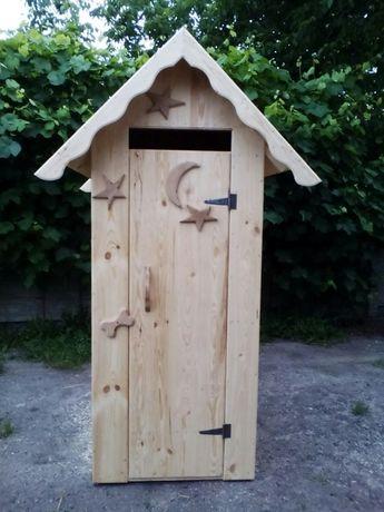 Продам туалет дерев'яний