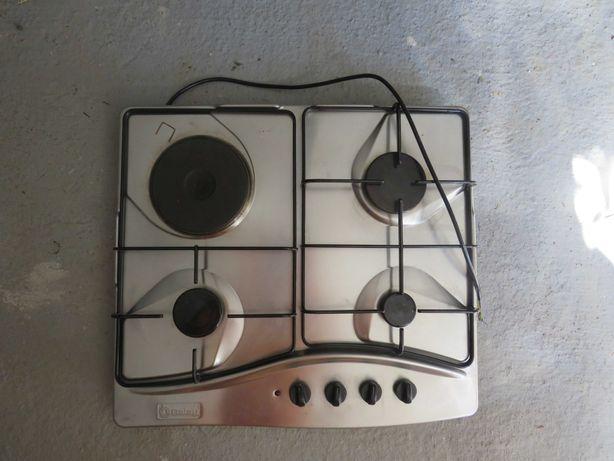 Placa de fogão a gaz e electrico em inox Marca BALAY