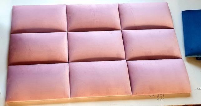 Panele ścienne tapicerowane wnęki sypialnie ścianki na wymiar 30/60
