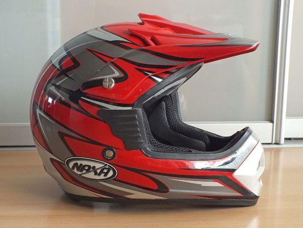 Kask motocyklowy cross / quad NAXA rozmiar S