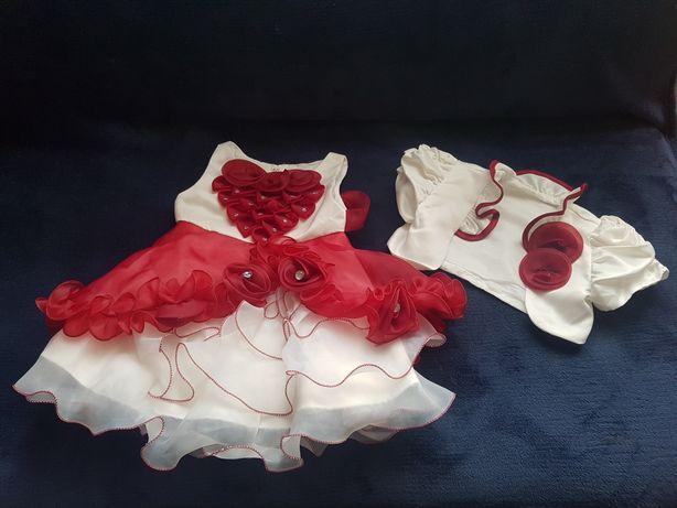 Sukienka+bolerko