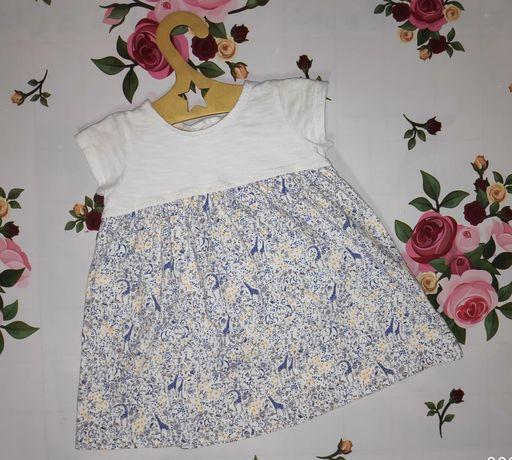 Продам красивое платьице на девочку 9-12 месяцев,в хорошем состоянии