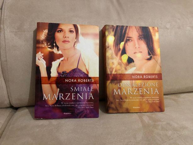 Dwie książki Nory Roberts z serii marzenia