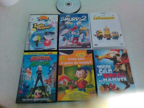 DVDs originais infantis