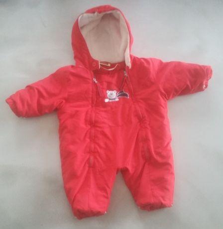 Spiworek dla dziecka zimowy jak nowy kolor czerwony