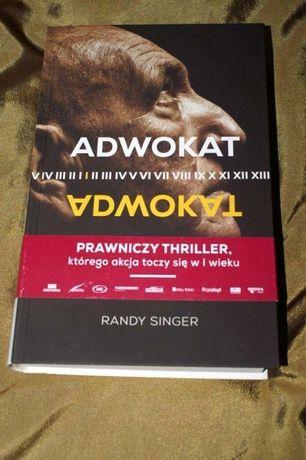 Adwokat prawniczy thriller Randy Singer NOWA