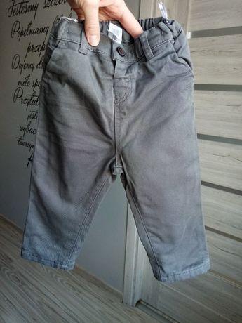 Spodnie jeansowe, dżinsy, podszewka, C&A,wiosenne, jesienne, baby club