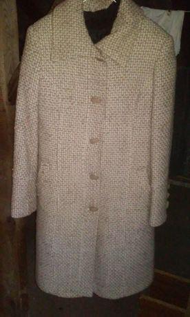 Płaszcz jesień zima welna akryl roz. M 38