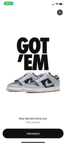 Nike Dunk low college navy 40,5
