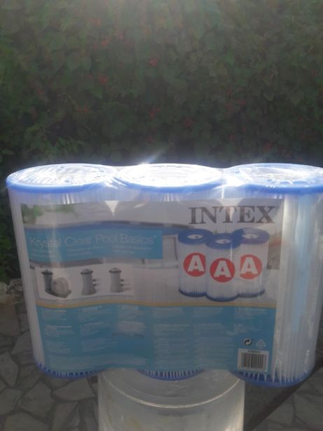 Filtro piscina tipo A Intex. 3 - Pack - 23€+portes.
