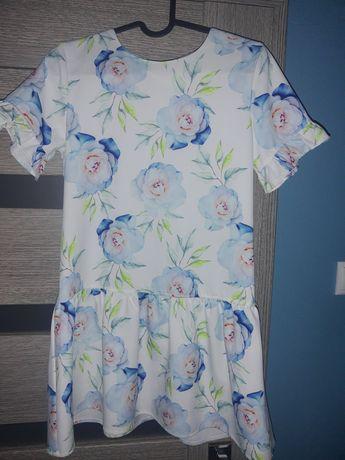 Sukienka dla dziewczynki rozm 152
