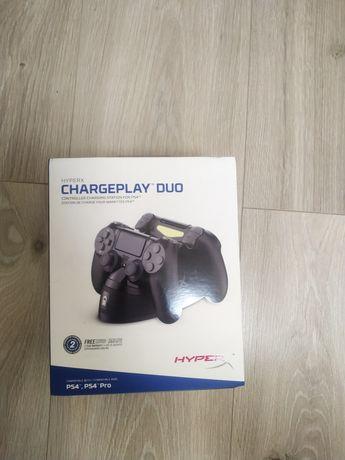 Зарядная станция для Dualshock 4 (HyperX ChargePlay Duo)