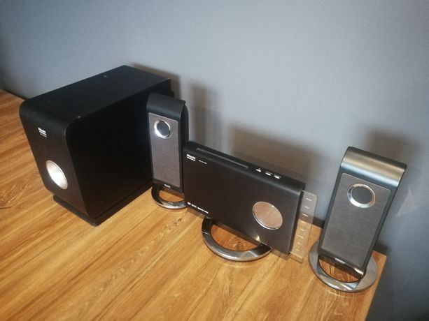Wieża Hitachi USB, DVD, MP3, bluetooth