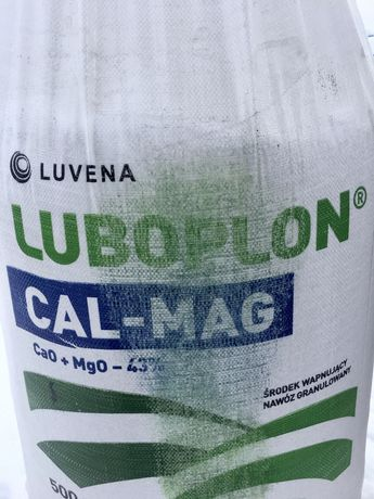 Wapno granulowane Luboplon Cal-Mag z magnezem i siarką