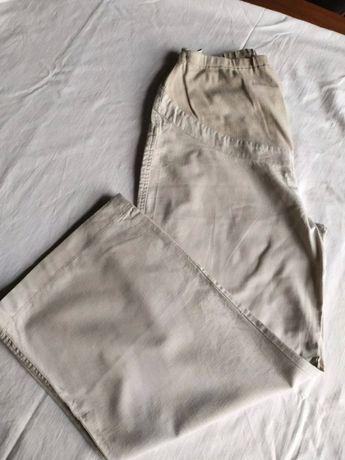 Spodnie ciążowe lniane Lindex roz. 44