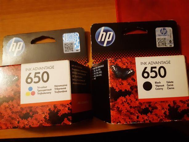 Tusz do drukarki HP 650