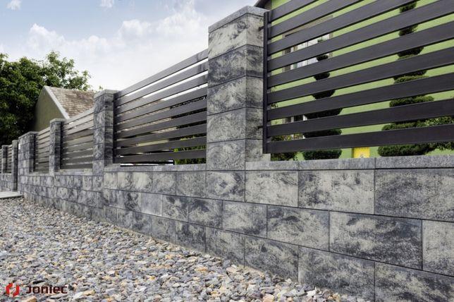 Bloczki betonowe Roma Horizon ,ogrodzenie modułowe,Joniec Bh20