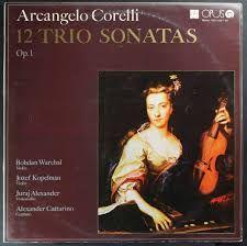 12 trio sonatas op. 1 - Corelli - 2 x vinyl
