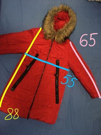 Куртка зимняя на синтепоне, пальто, пуховик