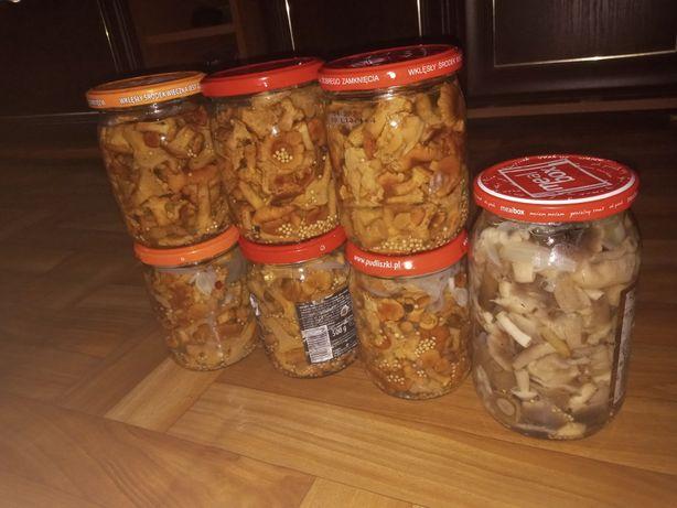 Sprzedam grzyby marynowane , kurki , gąski