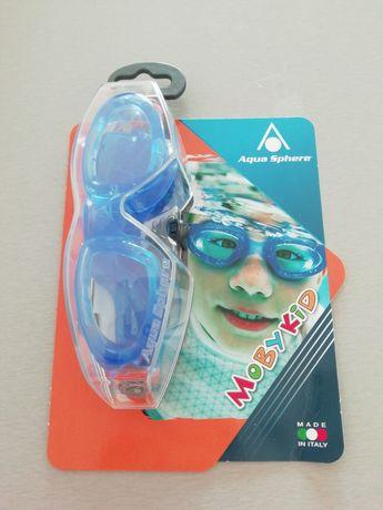 Okularki na basen dla dzieci Moby Kid Aqua Sphere