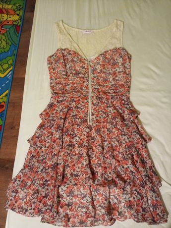 Sukienka Orsay w kwiatki rozm.36/38