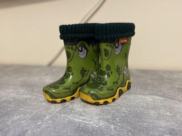 Гумові чоботи Demar Stormer Lux Print Крокодил