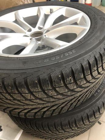 Оригинальные диски с зимней резиной R19 BMW X6 F16 594 STYLE Michelin