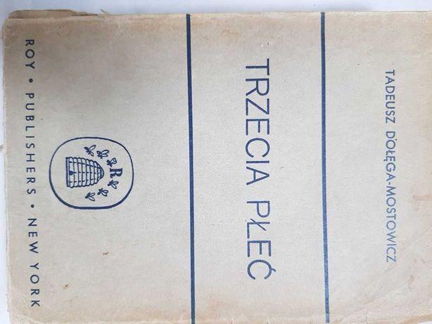 Trzecia płeć Tadeusz Dołęga-Mostowicz Roy Publishers New York 1937 r