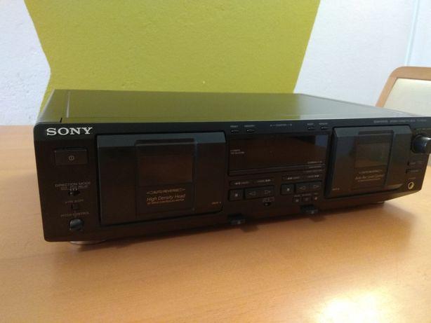 Sony magnetofon 2-kasetowy TC-WE435 (paski do wymiany)
