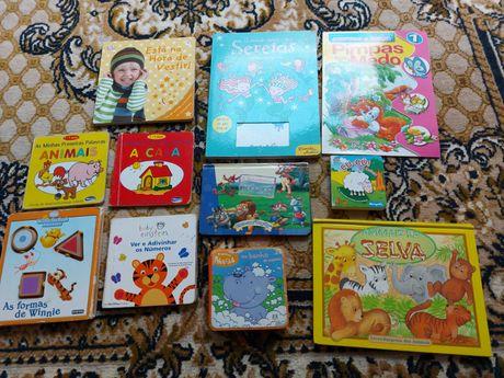 lote de livros 1 aos 3 anos