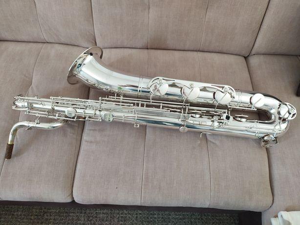 Saksofon barytonowy  WELTKLANG po remoncie generalnym