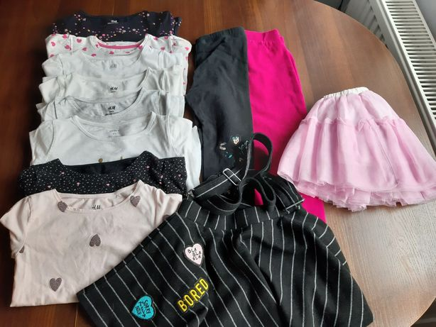 Paczka ubrań 104-110