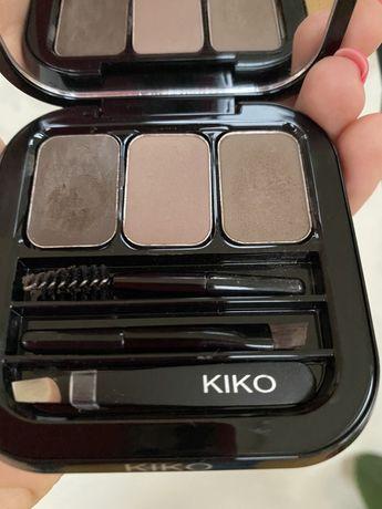 Kiko Milano палетка тени помадка для бровей