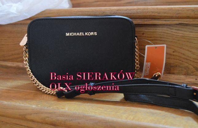 Torebka shopperka jet set mini z łańcuszkiem Michael KORS