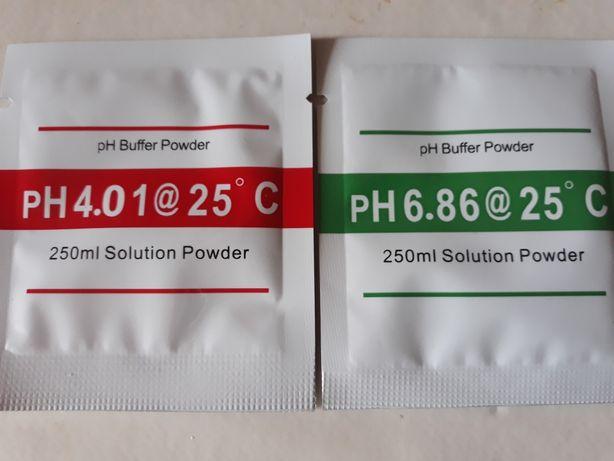 Комплект калибровочный порошок pH 4.00 и 6.86 для ph метра