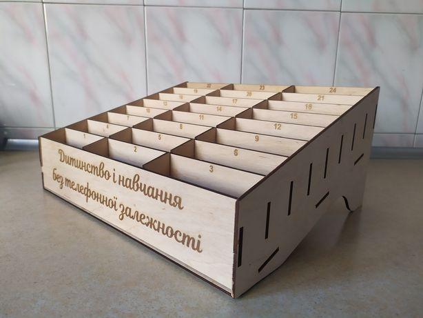 Підставка (коробка) для телефонів в клас 24 або 32 комірки