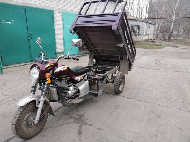 Трицикл, грузовой мотоцикл,  Musstang MT200ZH