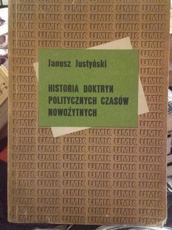 Historia Doktryn Politycznych Czasów Nowożytnych.