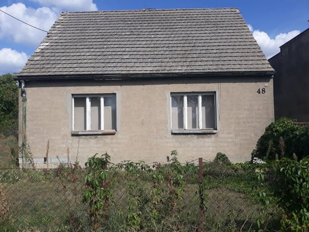 Dom Złotniki Kujawskie z działką i budynkiem gospodarczym 89m2