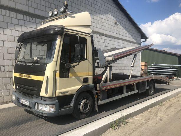 Iveco Eurocargo 80E18 laweta autolaweta na 2 samochody | pomoc drogowa