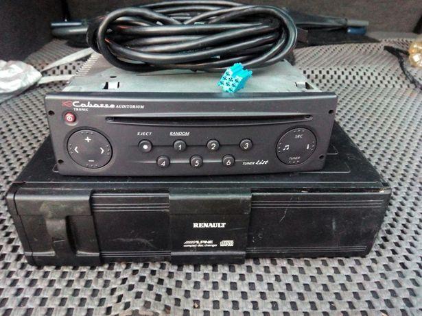 Radio com caixa de cd cabasse renault
