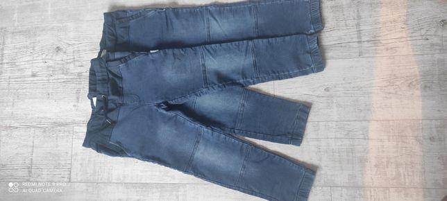 Spodnie jeansowe, dresowe dla chłopca rozmiar 134 Cocodrillo