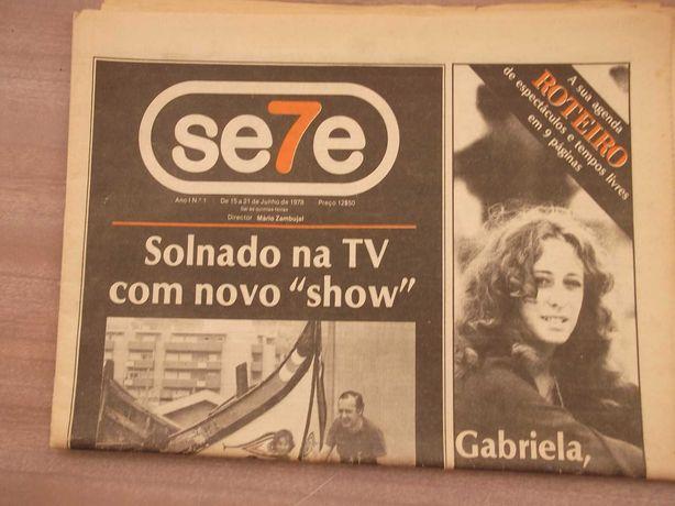 F.C.PORTO CAMPEÃO NACIONAL 1977/78 Jornal O SETE nº1