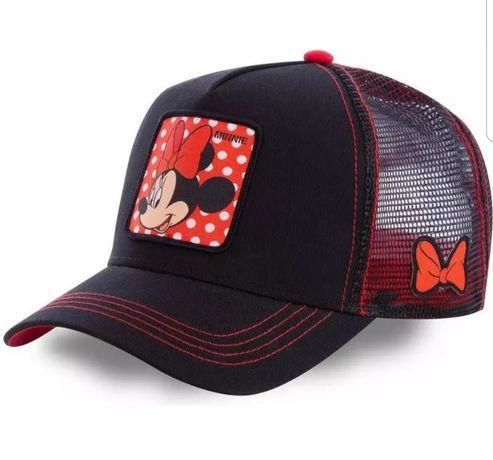 Disney Minnie bawełniana czapka baseballowa kobiety czapka z siateczką