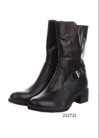 Модные зимние женские ботинки из натуральной кожи 37 размер РАЗНЫЕ
