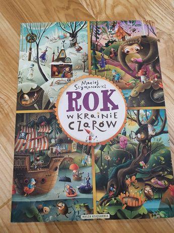 Książka dla dzieci - Rok w krainie czarów