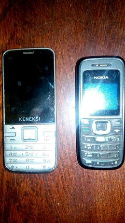Продам телефоны на детали, рабочие но нет батареи, раздулась