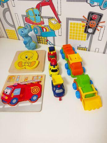 Іграшки пакетом. Гралися лише в квартирі Підійдуть на вік 1-3 роки